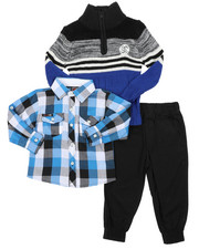Enyce - 3 Pc Sweater Set (2T-4T)-2429542
