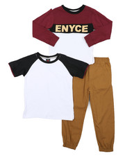 Boys - 3 Pc Knit Set (4-7)-2430275