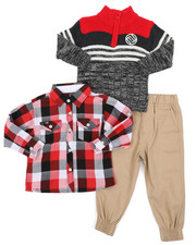 Enyce - 3 Pc Sweater Set (2T-4T)-2429546