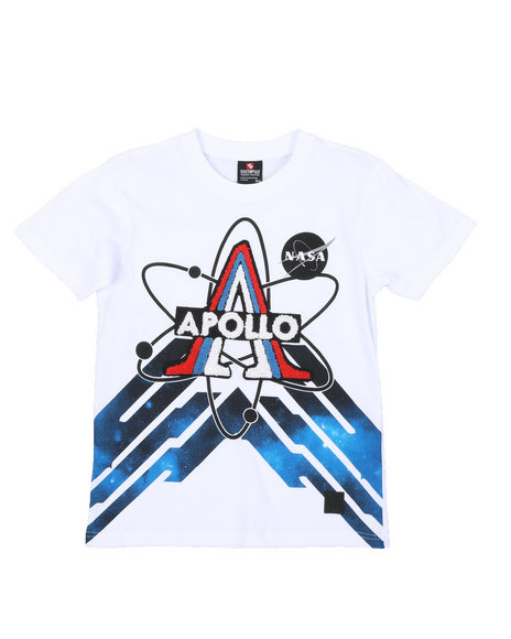 Arcade Styles - Southpole x NASA Chenile Patch Tee (8-20)