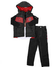 Boys - 3 Pc Vest Set (8-18)-2430664