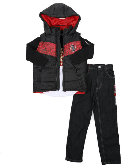 Enyce - 3 Pc Vest Set (8-18)