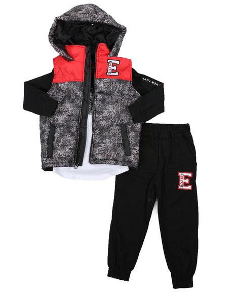 Enyce - 3 Pc Vest Set (8-18)