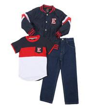 Boys - 3 Pc Jacket Set (4-7)-2430780