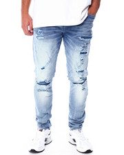 Jordan Craig - Extreme Worn out Jean Ice Blue-2431625