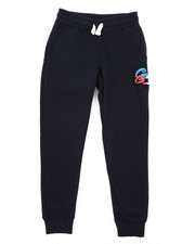Bottoms - Fleece Joggers W/ Camo Chenille Patch (8-20)-2431887