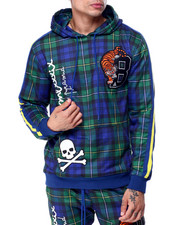 Black Pyramid - Varsity Plaid Hoody-2432559