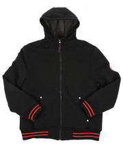 Hoodies - Fleece Lined Full Zip Hoodie (8-20)-2428436