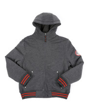 Hoodies - Fleece Lined Full Zip Hoodie (8-20)-2428441