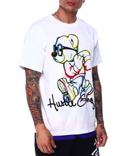 Hustle Gang - front to back ss tee-2432346