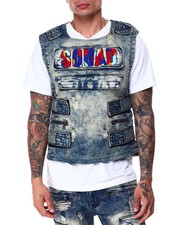 Vests - Squad Denim Vest-2432585