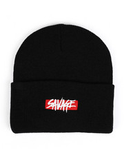 Mens-Winter - Savage Beanie-2432192
