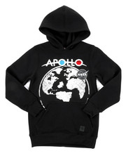 Hoodies - Southpole x NASA Pullover Hoodie W/ Chenille Patch (8-20)-2431868