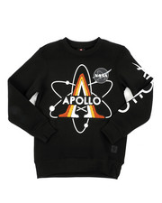 Boys - Southpole x NASA Sweatshirt W/ Chenille Patch (8-20)-2431832