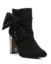 Women - Zip Up Bootie With Side Bow-2431938