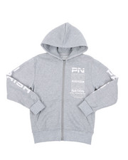 Hoodies - Fleece Full Zip Hoodie (8-20)-2429055