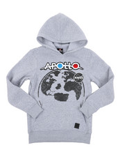 Hoodies - Southpole x NASA Pullover Hoodie W/ Chenille Patch (8-20)-2431339