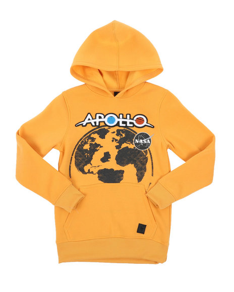 Arcade Styles - Southpole x NASA Pullover Hoodie W/ Chenille Patch (8-20)