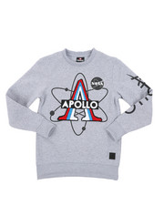 Boys - Southpole x NASA Sweatshirt W/ Chenille Patch (8-20)-2431308