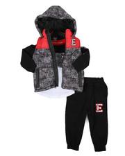 Boys - 3 Pc Vest Set (2T-4T)-2430396