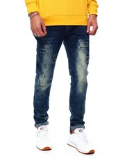 Jeans - Rip and Repair Stretch Jeans-2432982