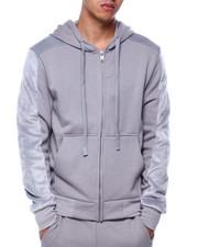SWITCH - Fur Fleece Zip Hoodie-2432769