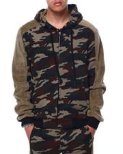 SWITCH - Fur Fleece Zip Hoodie-2432738