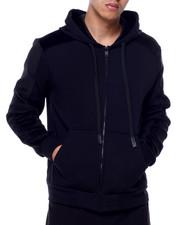Hoodies - Fur Fleece Zip Hoodie-2432758