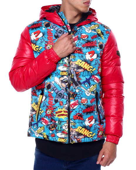 Top Gun - Comic Solid Down Jacket
