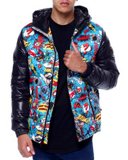 Top Gun - Comic Solid Down Jacket-2433158