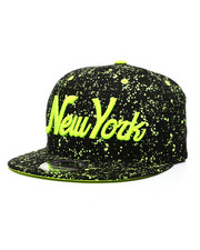 Buyers Picks - New York Paint Splatter Snapback Hat-2432338