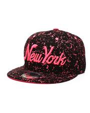 Buyers Picks - New York Paint Splatter Snapback Hat-2432370