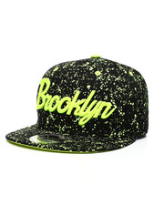 Buyers Picks - Brooklyn Paint Splatter Snapback Hat-2432476