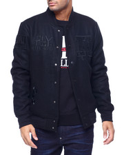Mens-Holiday - God Father  Varsity Jacket-2434061