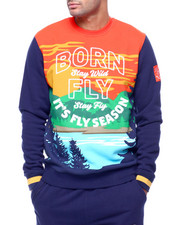 Born Fly - SUNRISE CREWNECK SWEATSHIRT-2433933