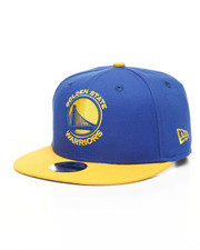 NBA MLB NFL Gear - Youth 9Fifty NBA Golden State Warriors 2Tone Snapback Hat-2433220