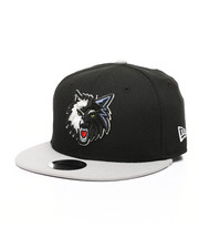 Accessories - Youth 9Fifty Minnesota Timberwolves 2Tone Snapback Hat-2433221