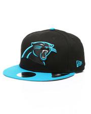 New Era - 9Fifty Carolina Panthers Baycik Snapback Hat-2433497