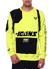 Hudson NYC - Icons Tactical Crewneck Sweatshirt-2432879