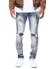 Jeans - RIP AND REPAIR ZIP ANKLE JEAN-2432023