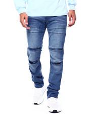 Buyers Picks - Pleat Knee Moto Jean-Med Indigo-2433861