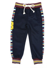Activewear - Jogger Pant W/Stripes & Chenille Patch (4-7)-2432869