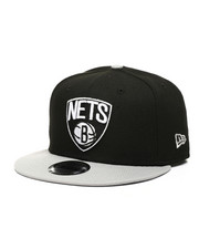 NBA, MLB, NFL Gear - 9Fifty Brooklyn Nets 2Tone Snapback Hat-2433226