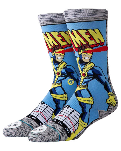 Stance Socks - Stance x Marvel Cyclops Comic Socks (L(2-5.5)
