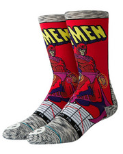 Stance Socks - Stance x Marvel Magneto Comic Socks (L(2-2.5)-2434272