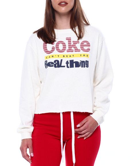 Graphix Gallery - Coke Side Rib Skimmer Sweatshirt