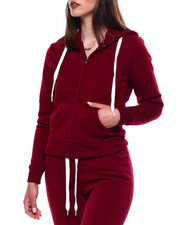 Women - Fleece Zip Hoodie-2433417