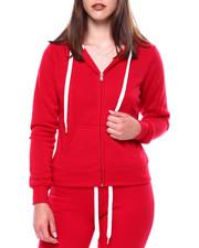 Outerwear - Fleece Zip Hoodie-2433426