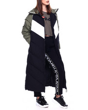 Athleisure for Women - Keon Long Puffer Jacket-2433487