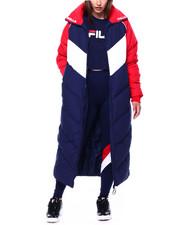 Fila - Keon Long Puffer Jacket-2433492